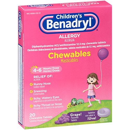 Children's Benadryl Allergy