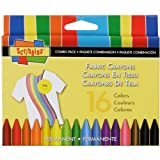 Scribbles Fabric Crayons
