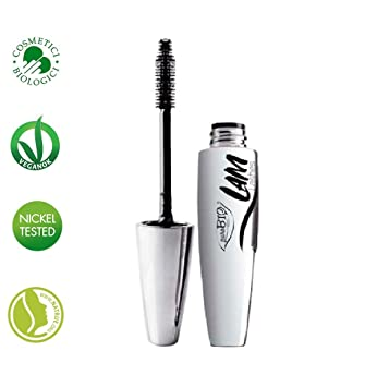 PUROBIO - Mascara L.A.M. - 100% Natural with Aloe - Intense Black, Volumizing,