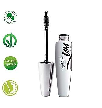 PUROBIO - Mascara L.A.M. - 100% Natural with Aloe - Intense Black, Volumizing,