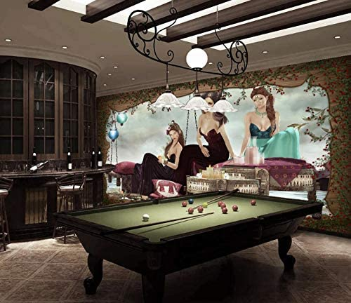 Afashiony 3D Sexy Lady Bar Ktv Sala De Billar Herramientas Sala De Estar Sofá Tv Fondo Pared Decoración Mural, Decoración Del Hogar, Pared De Ladrillo 3D Papel Tapiz Mural-450Cmx300Cm: Amazon.es: Bricolaje y
