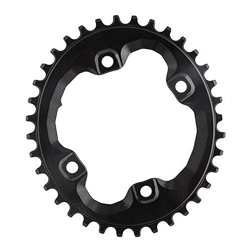 ABSOLUTE BLACK Shimano Oval Traction Chainring Black/96 BCD (M8000 XT), 36t