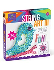 Deal on Craft-tastic – String Art Kit – Craft Kit Makes 3 Large String Art Canvases – Bird Edition Standard Standard. Discount applied in price displayed.