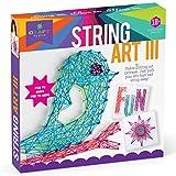 Craft-tastic String Art Kit III - Craft Kit Makes 3 Large String Art