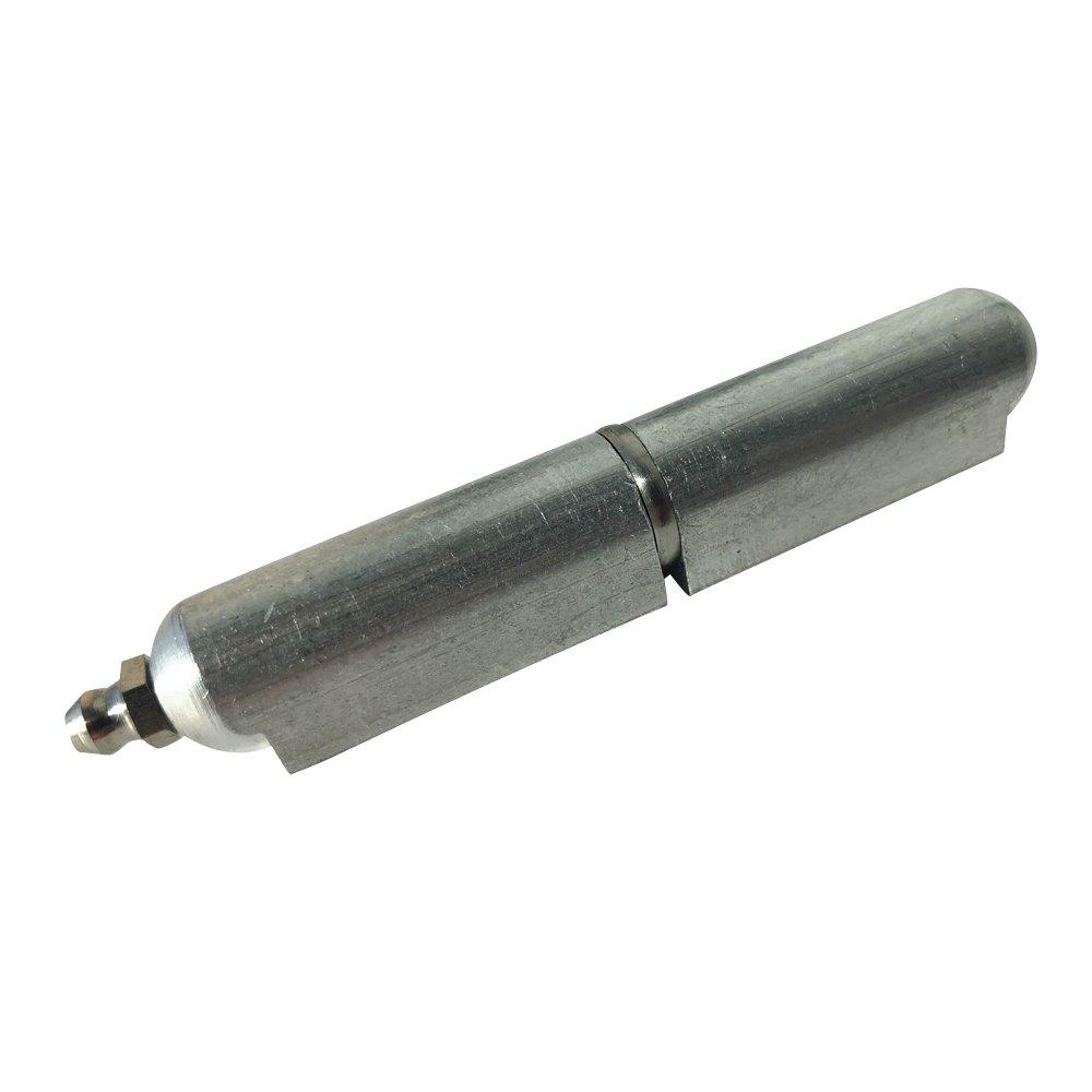 4'' ALUMINUM weld on Bullet Hinge Stainless Steel Bushing & Pin w/ zerk grease fitting (20)