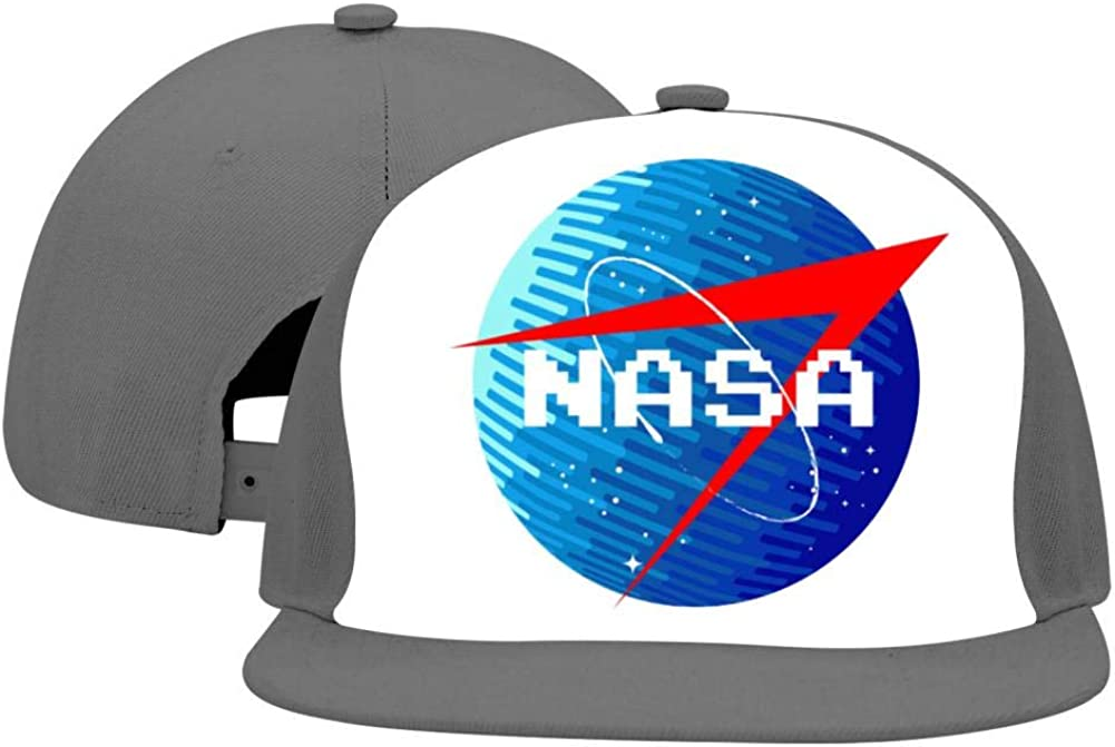 Lisa Cave NASA Adjustable Unisex Snapback Hats,Hip Hop Flat Baseball Cap