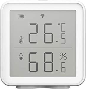 Tuya WiFi Temperature and Humidity Sensor Indoor Hygrometer Thermometer Detector Support Alexa Google Home Smart Life [NOT Support Fahrenheit]