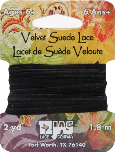Tandy Leather Factory Velvet Suede Lace 5/32