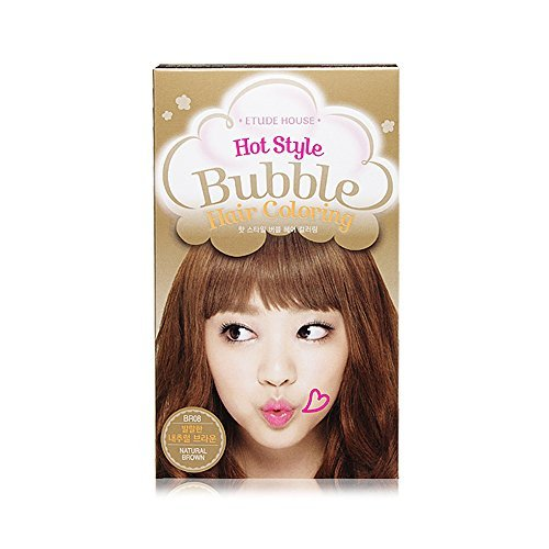 Etude House Hot Style Bubble Hair Coloring (#BR08 Natural Brown)