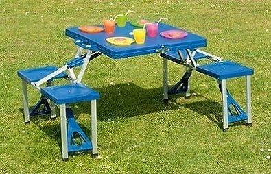 allrid Table ET CHAISES VALISETTE Pliable Valise PIC NIC ...