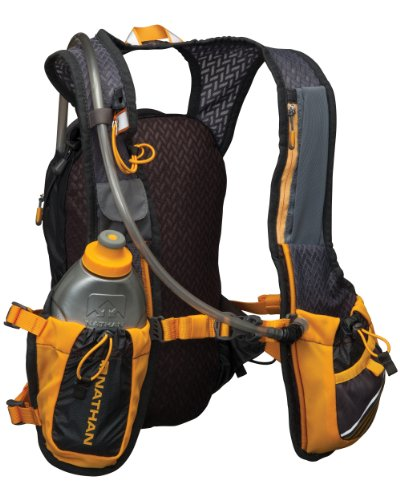 Nathan Zelos 2-Liter Hydration Vest, Nathan Grey, One Size by Nathan (Image #2)'