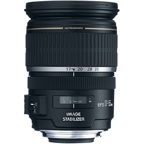 Canon EF-S 17-55mm f/2.8 IS USM Lens for Canon DSLR Cameras (Best 17 50mm Lens For Canon)