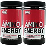 Optimum Nutrition Essential Amino Energy - Watermelon 9.5 oz (Pack of 2) ,30 Servings each