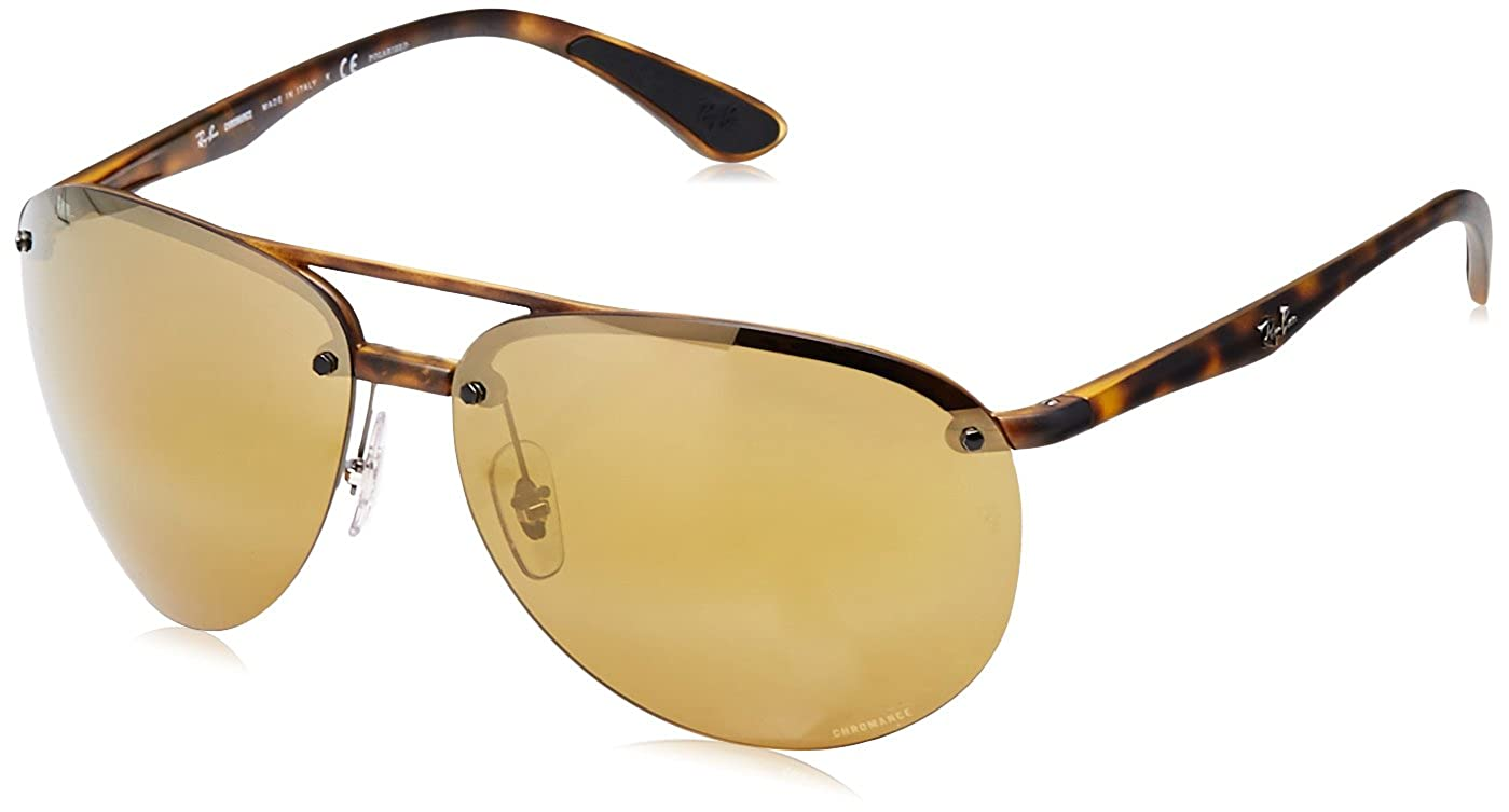 bfb61a0b82 Amazon.com  Ray-Ban Men s 0rb4293ch894 a364plastic Man Sunglasses Polarized  Iridium Aviator