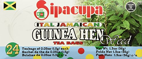 Anamu Tea (Jamaican Guinea Hen Weed 100%) Roots and Leaves (3 Pack) (Best Weed In Africa)