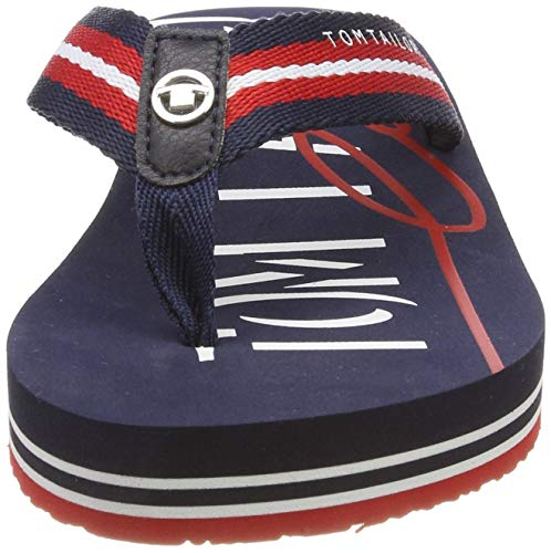 00931 Donna red navy 6993301 white Tailor Tom Mehrfarbig Infradito 8nAgSgqw