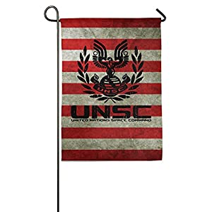 unsc united nations space command garden flag decorative yard flags fall