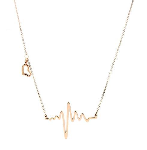 Cadena de collar de acero inoxidable para mujer - Muting ...