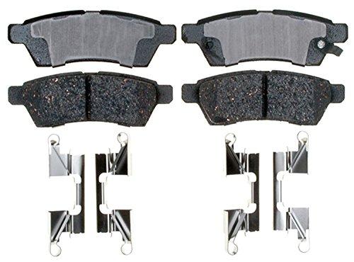 ACDelco 17D1100CH Professional Ceramic Rear Disc Brake Pad Set Nissan Metal Brake Pad