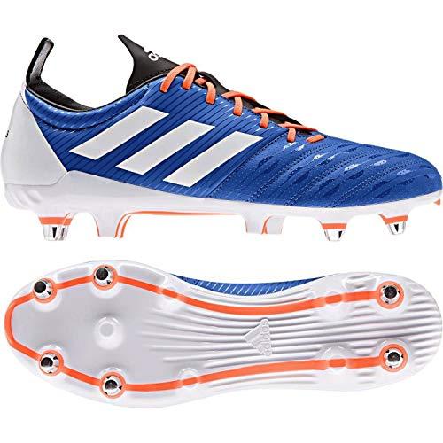 Malice Soft Ground Rugby Boots - Blue/Orange: Amazon co uk