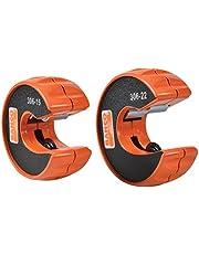 Bahco BAH306PACK Pijpsnijders, Oranje, 15mm & 22mm