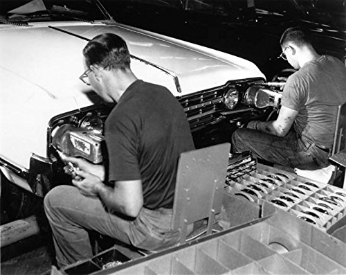 1965 Oldsmobile Factory Scene Photo Poster