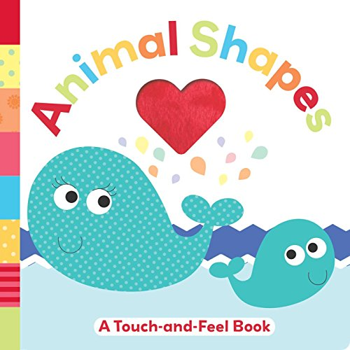 Animal Shapes: A Touch-and-Feel Book (Tiny Touch)