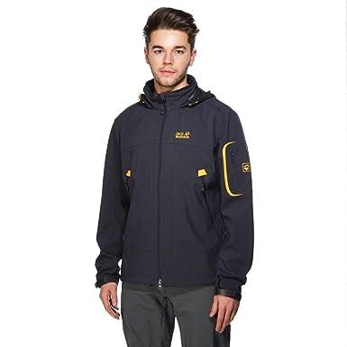 51c4e554ea Jack Wolfskin Men's Chilly Pass Jacket, Grey, M: Amazon.co.uk: Clothing