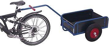 Remolque de bicicleta Variofit nevera con carga-1392: Amazon.es ...