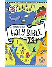 NIrV, The Illustrated Holy Bible for Kids, Hardcover, Full C