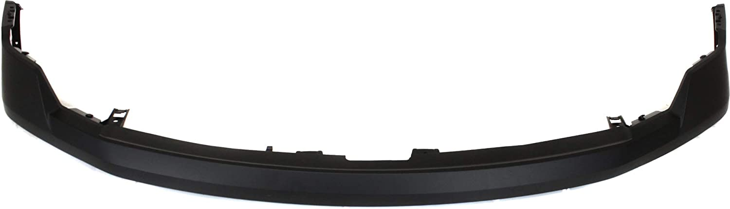 CAPA Front Bumper Cover Compatible with FORD F-150 2009-2014 Upper Primed with Wheel Opening Molding All Cab Types
