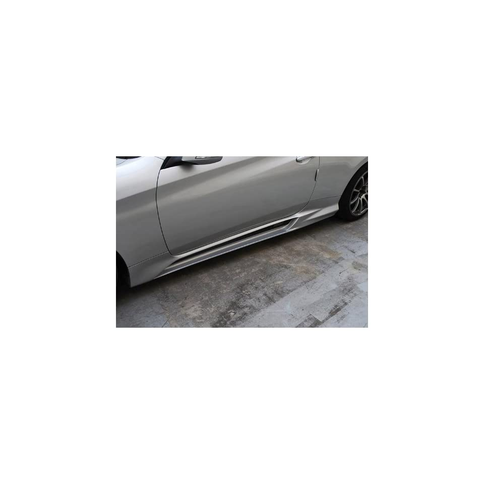M&S Side Lip Skirt UNPAINTED Left Right 2 pc Set For 2013 Hyundai Genesis Coupe
