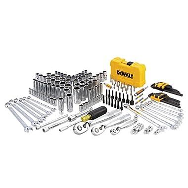 DeWalt DWMT73803 Mechanics Tool Kit Set with Case (168 Piece)