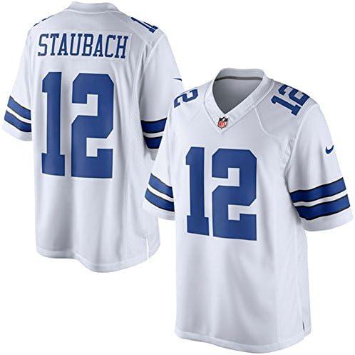 Dallas Cowboys 12 Roger Staubach - Camiseta - para hombre ...