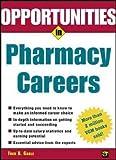 Opportunties in Pharmacy Careers