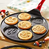Pancake Griddle - Nonstick Smiley Face Pancake