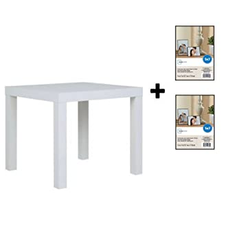 Pleasant Mainstays Parsons Side End Table Multiple Colors White With Frame Download Free Architecture Designs Lukepmadebymaigaardcom
