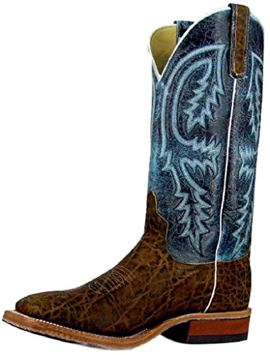 Anderson Bean Western Boots Mens Vintage Elephant 9.5 D Teal S1096