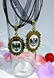 Dreamcosplay APH Axis Powers Hetalia Prussia Logo Girl Necklace 2PCS