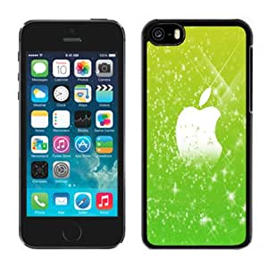 NEW Fashion Custom Designed Cover Case For iPhone 6 Plus 5.5 Inch Green Flares Apple Black Phone Case