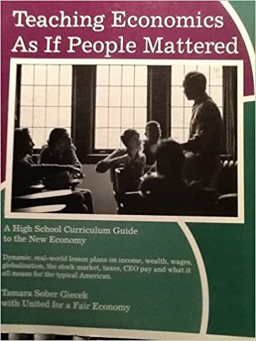 Forums télécharger des livres Teaching economics as if people mattered: A high school curriculum guide to the new economy 0965924939 PDF ePub MOBI