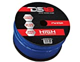 DS18 PW-8GA-250BL-2pk 250-Feet 8-Gauge Ultra Flex Power Cable (Blue), Set of 2