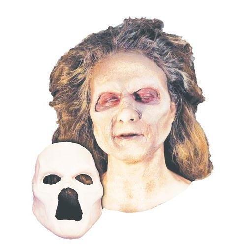 Undead Zombie Foam Latex Face - HD600143]()
