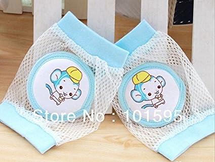 readycor (TM) bebé seguridad rodilleras Niños malla calcetines calentador de pierna almohadillas codo bebé
