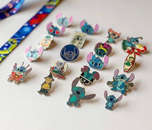 Disney stitch pin set