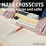 Fulton DIY Table Saw Crosscut Sled Kit with 2 UHMW