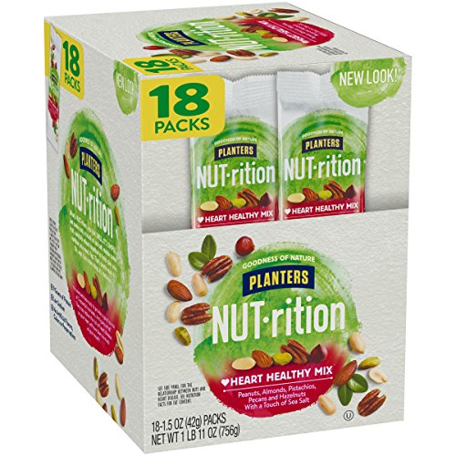 Planters Nutrition Heart Healthy Mix, 1.5 Ounce, Pack of 18 by Planters (Image #7)
