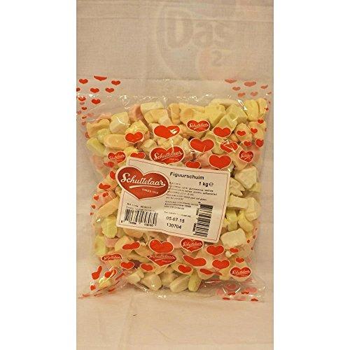 Schuttelaar Bonbon Figuurschuim 1000g Beutel (Schaumzucker)