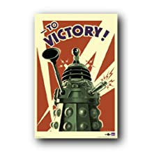 Doctor Who Dalek To Victory TV Poster Print - 24x36