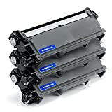 3 Pack Save on Many Compatible Brother TN-660 TN660 / TN630 TN-630 Black High Yield BK Toner Cartridges for DCP-L2520DW, DCP-L2540DW, HL-L2300D, HL-L2305W, HL-L2320D, HL-L2340DW, HL-L2360DW, HL-L2380DW, MFC-L2680W, MFC-L2700DW, MFC-L2705DW, MFC-L2707DW, MFC-L2720DW, MFC-L2740DW